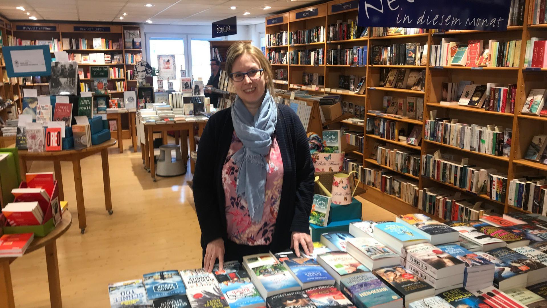Lesestoff hat sie genug, doch wie lange Ulrike Müller die Brettener Buchhandlung Kolibri noch offen halten kann, war am Dienstag noch unklar.