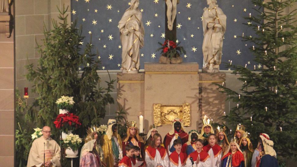 Volle Kirchen waren gestern: Im Jahr 2020 können Christmetten und Adventsfeiern wohl nur in kleinem Rahmen stattfinden. Hier eine Archivaufnahme mit den Heiligen Drei Königen.