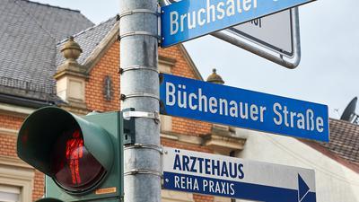 Richtungsweisend: Die Bruchsaler Straße in Untergrombach führt in die Kernstadt. Die Büchenauer nach Büchenau. Eine Untergrombacher Straße sucht man aber in der ganzen Stadt vergebens.
