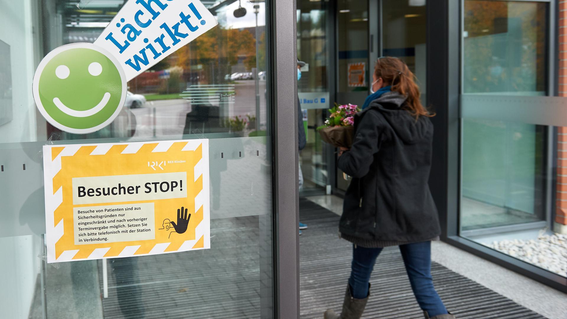 Besucherstopp in Fürst-Stirum-Klinik