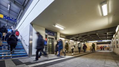 Gleisunterquerung Bahnhof Bruchsal
