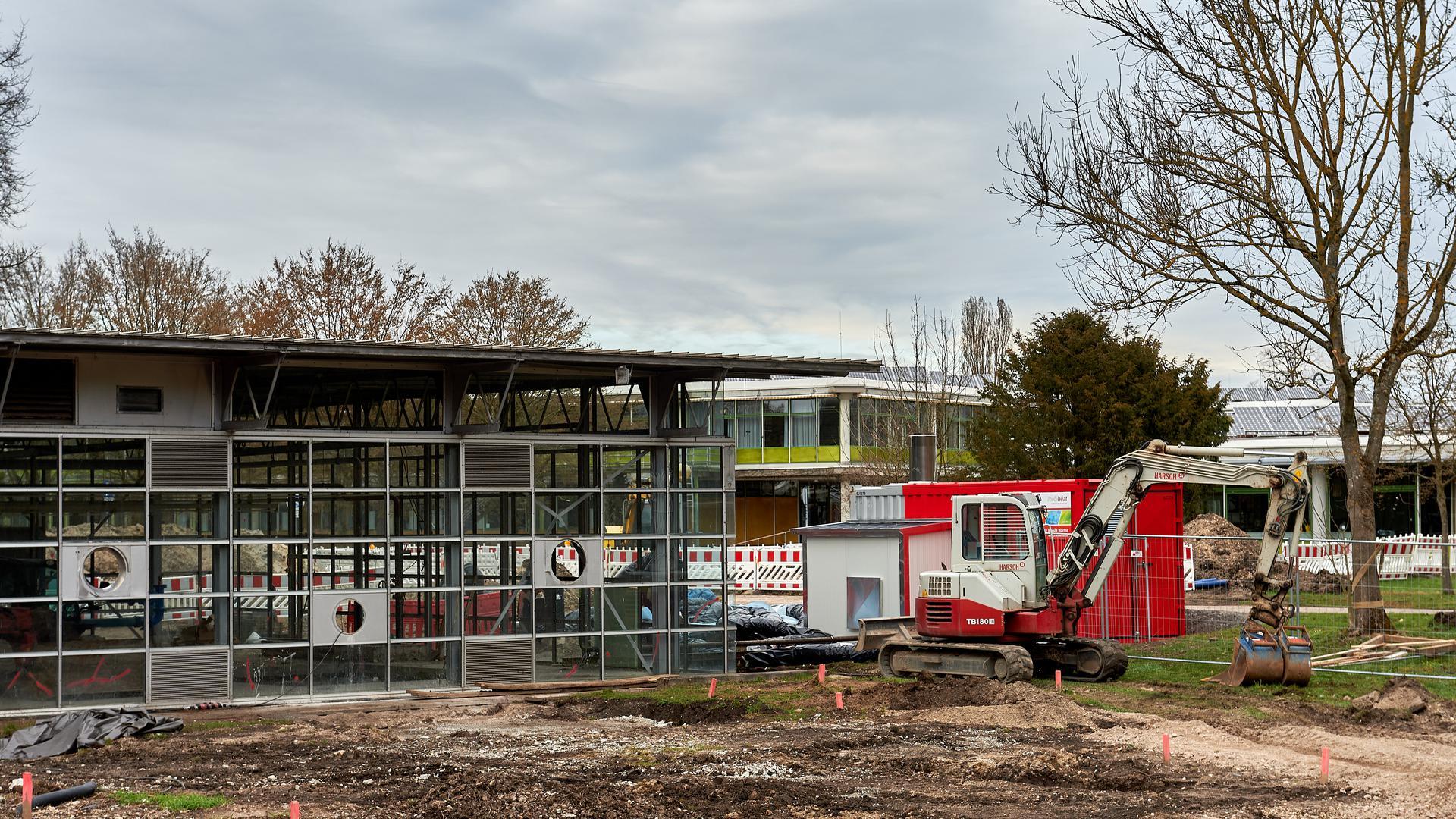 Fernwärme Südstadt, GBZ Bruchsal, Heizzentrale