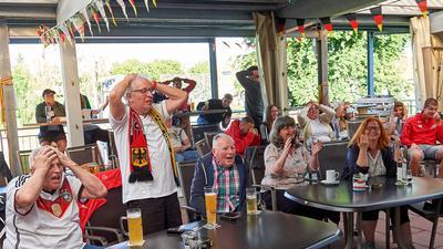 Public Viewing. FC Heidelsheim