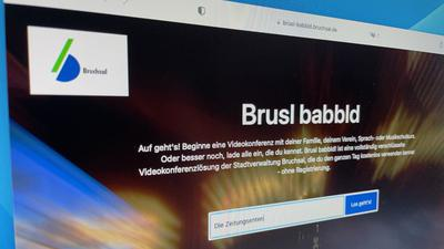 """Über """"Brusl babbld"""" können sich Bruchsaler nach Lust und Laune austauschen. Das Online-Tool hat im Corona-Lockdown großen Erfolg."""