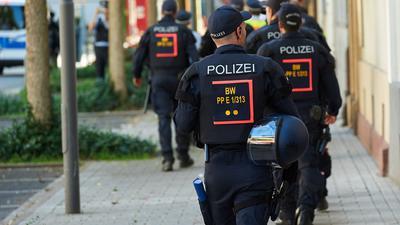 Verdachtsfall Bereitschaftspolizei: Gegen 17 Beamte läuft derzeit ein Disziplinarverfahren. In einer Chatgruppe wurden Nazi-Inhalte geteilt.