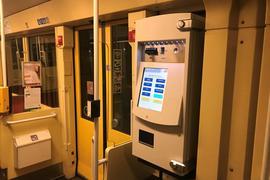 Automat in Bahn