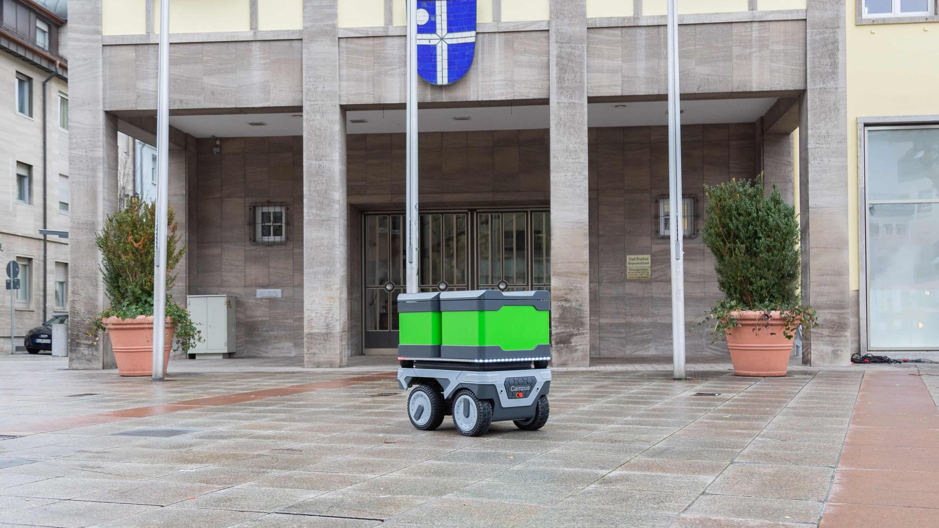 Efeu-Campus Lieferroboter Prototyp Bruchsal
