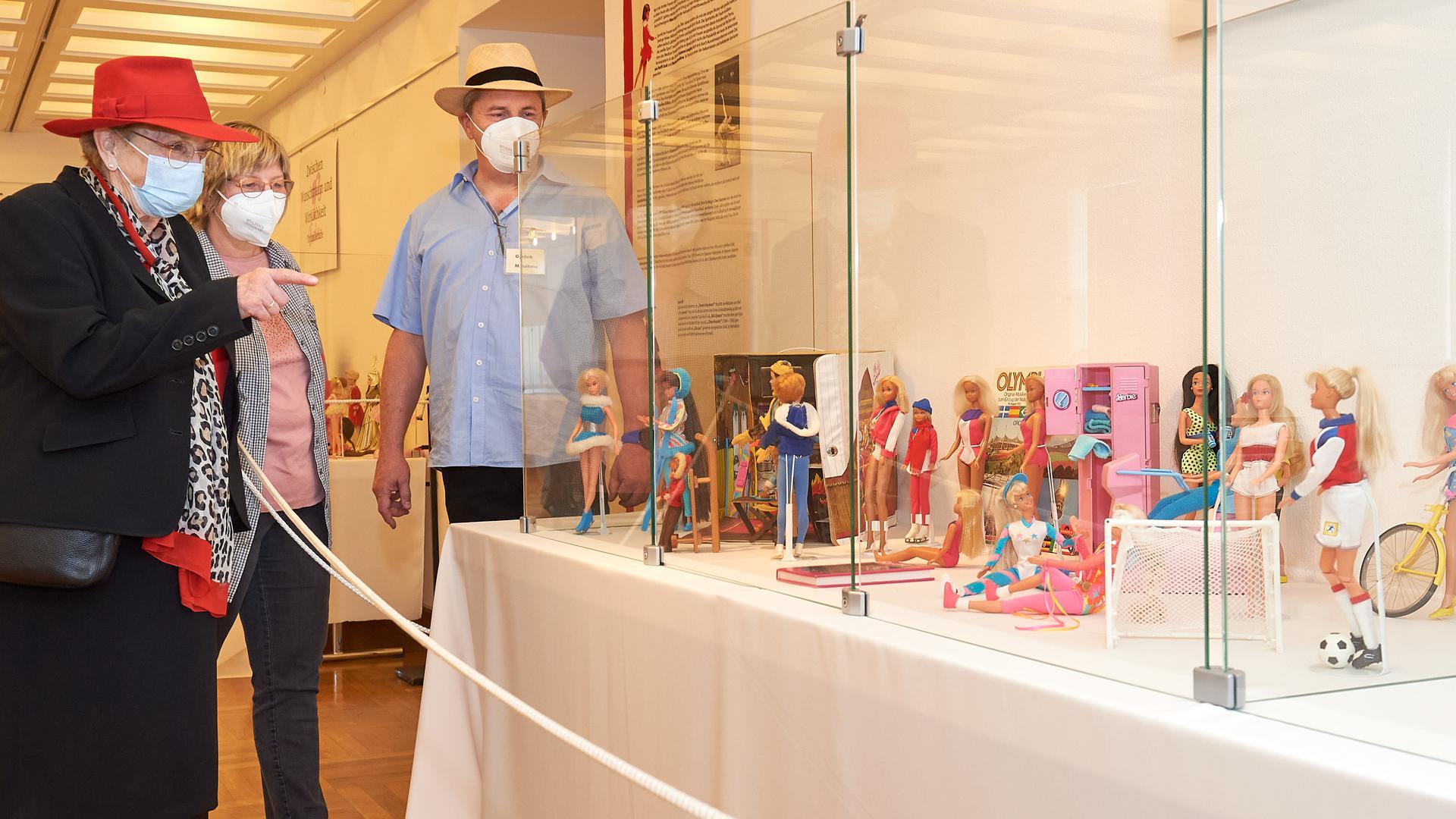 Barbie-Ausstellung Schloss Bruchsal