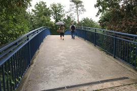 blaue Brücke, L618, Südstadt, Bruchsal