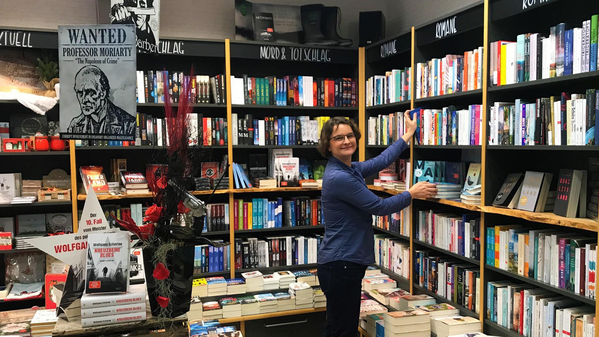 Buchhändlerin Carolin Wolf aus Bruchsal