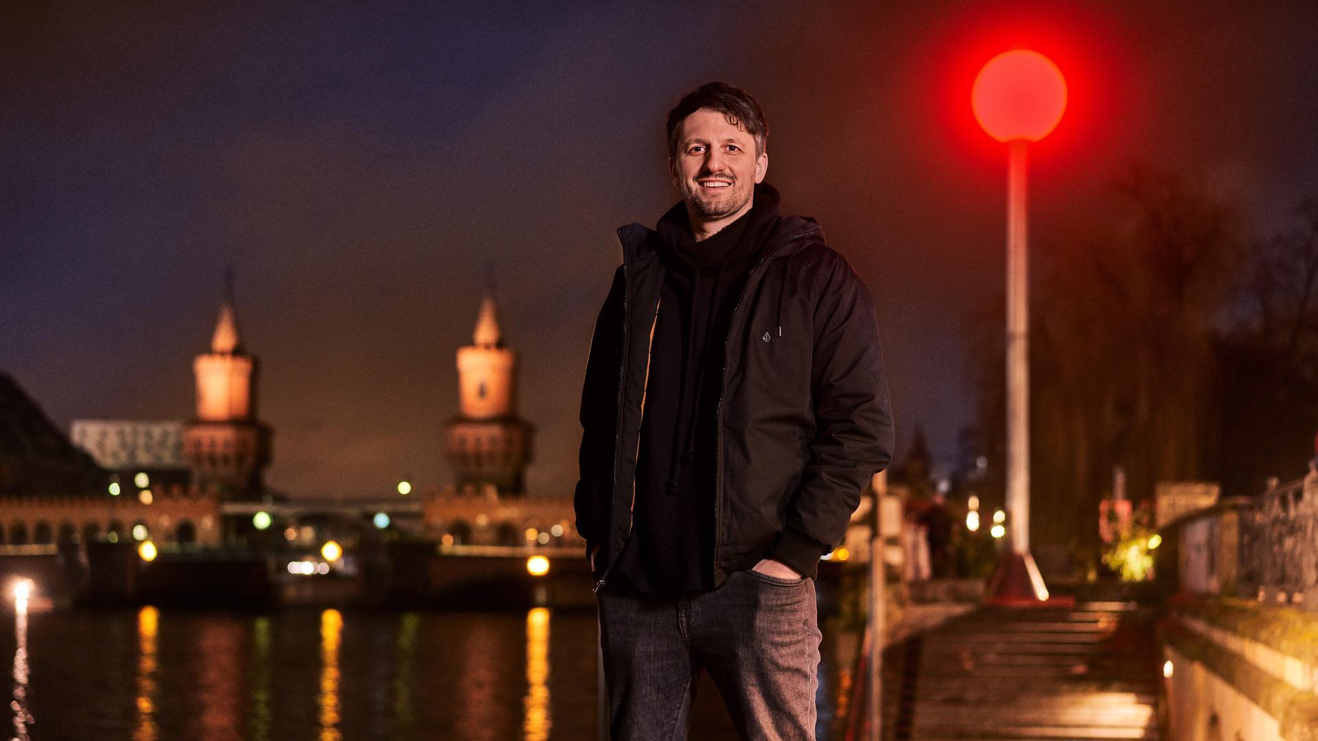 Lutz Leichsenring aus Obergrombach ist Sprecher der Berliner Clubszene