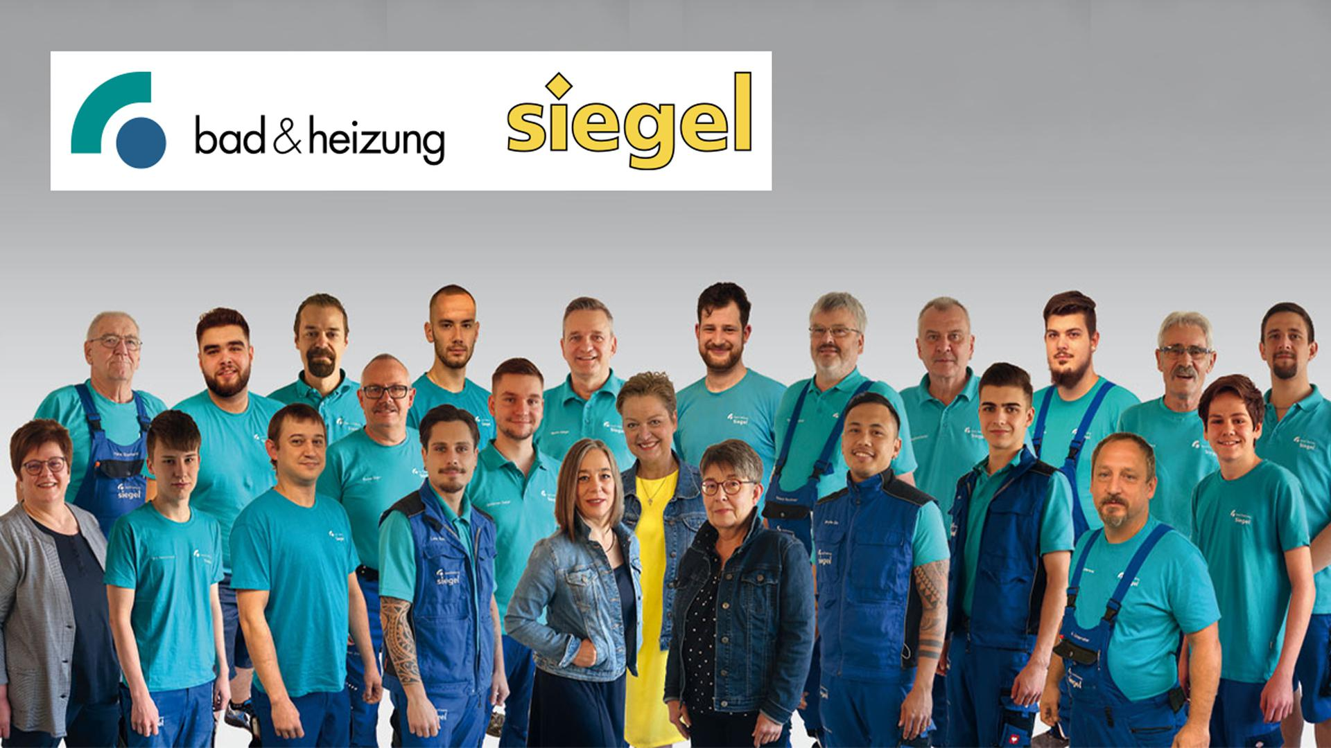 Siegel Bad & Heizung Mitarbeiter