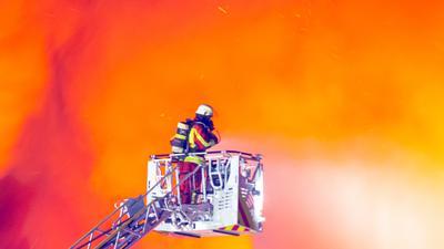 Feuer Bruchsal Feuerwehr