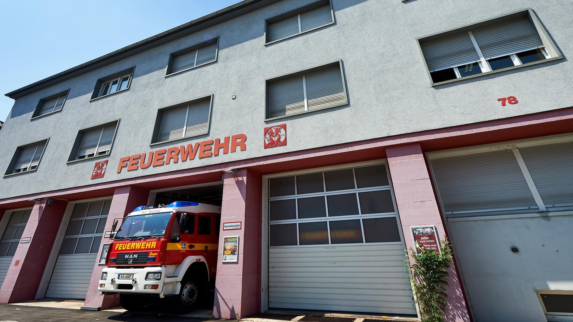 Feuerwehrhaus Bruchsal  August 2018
