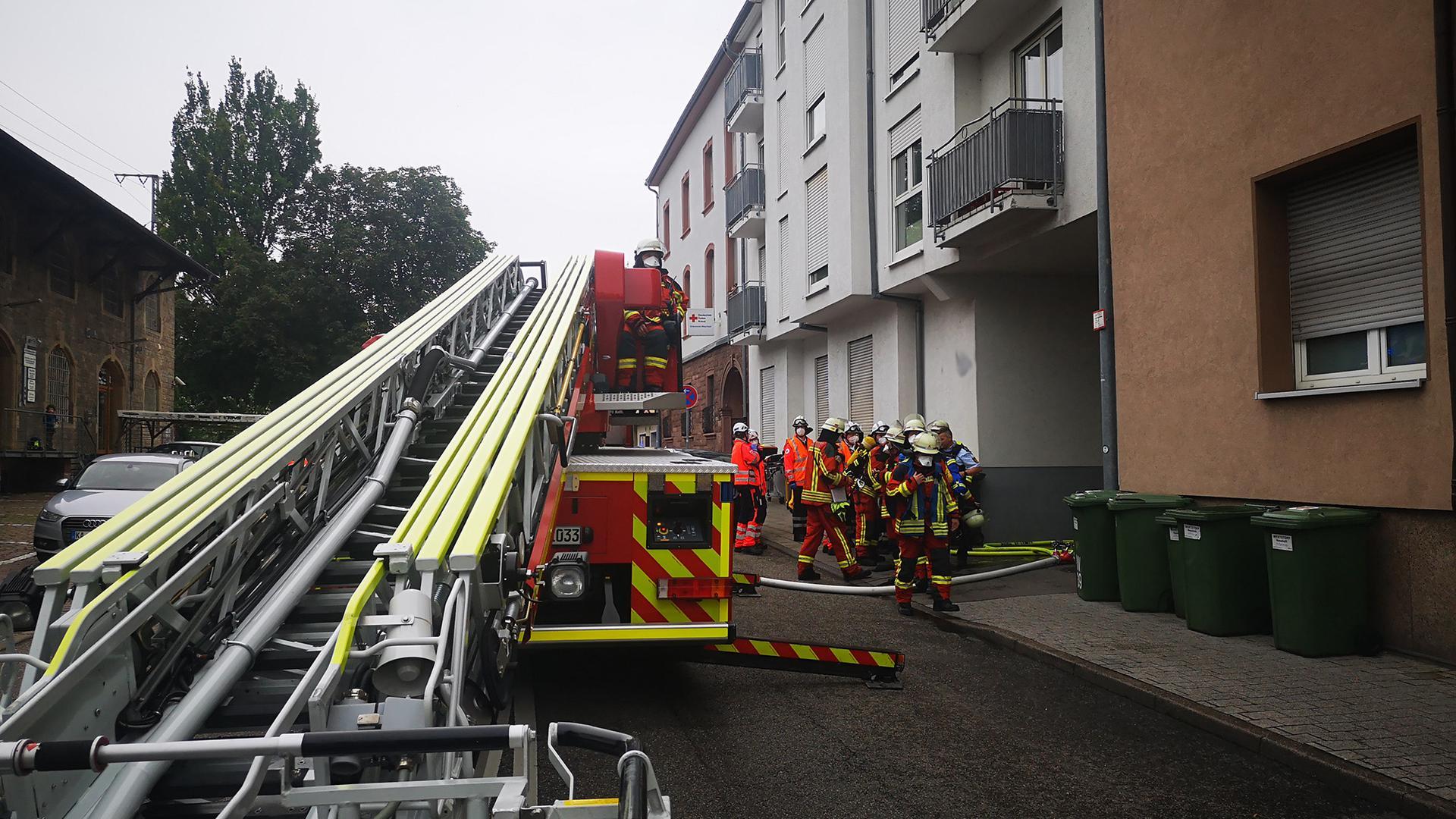 Feuerwehr Bruchsal, Einsatz Zollhallenstraße