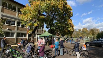 Fahrradaktionstag in Bruchsal