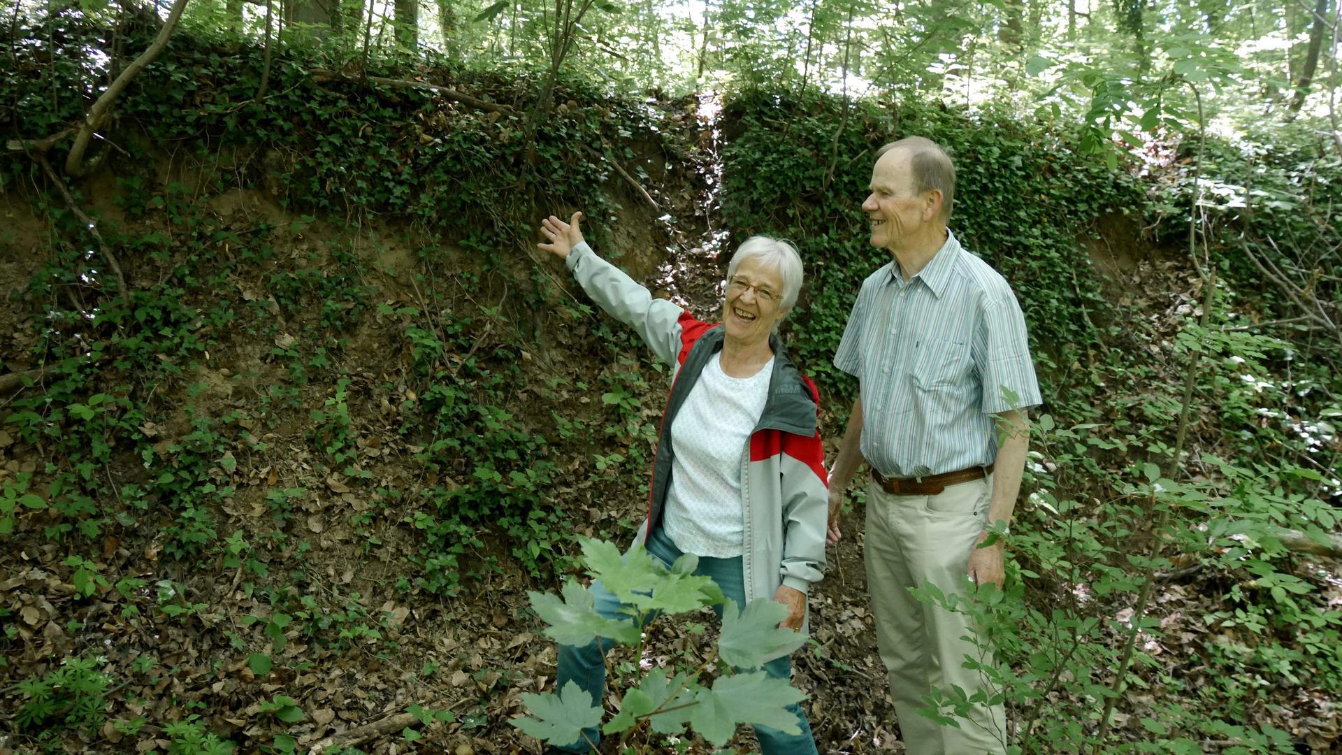 Renate Müller mit Mann