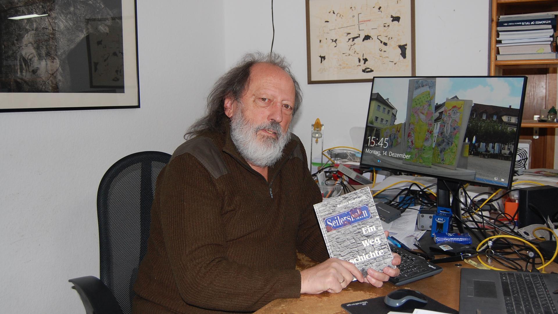 Rainer Kaufmann, Bruchsaler Journalist, Autor und Kabarettist