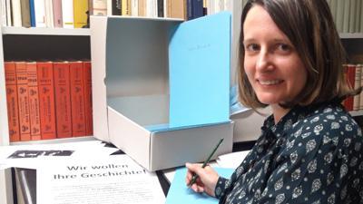 Stadtarchivarin Dr. Tamara Frey