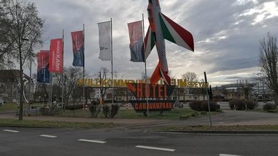 Außengelände Technik-Museum Speyer