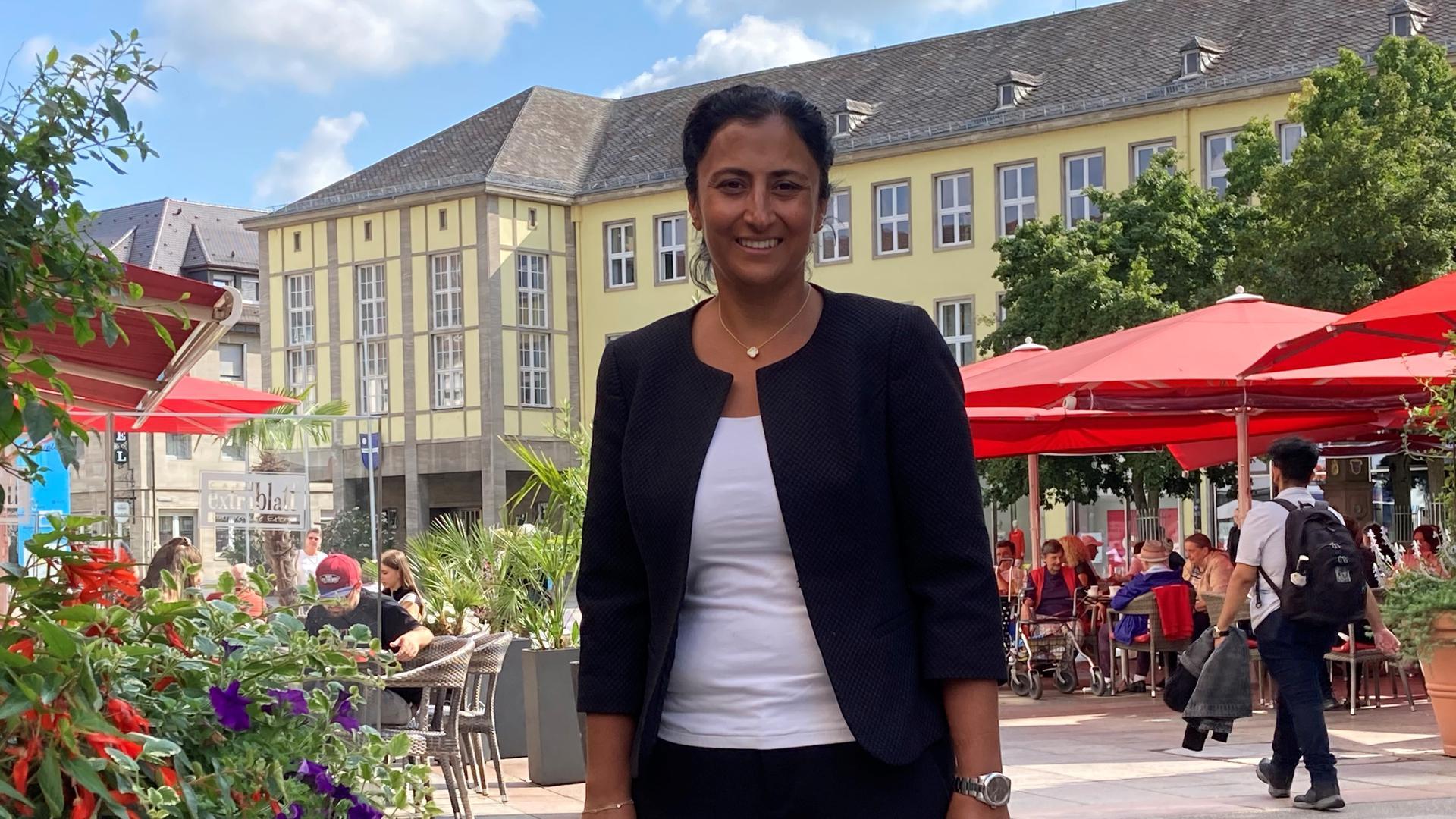 Von Bruchsal nach Berlin: Neza Yildirim will für die SPD den Einzug in den nächsten Bundestag schaffen. Sie setze auf Bürgernähe und Kontinuität, erzählt sie.