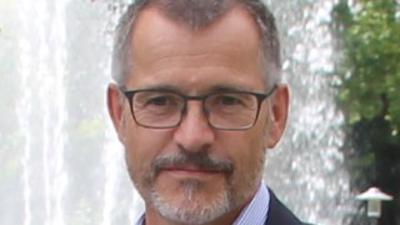 Porträtfoto Bürgermeister Klaus Detlev Huge Bad Schönborn