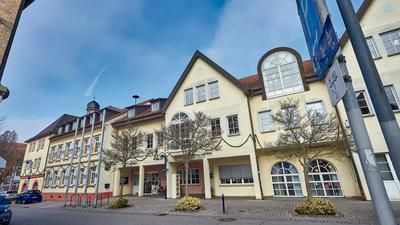 Rathaus Bad Schönborn in Mingolsheims Ortsmitte