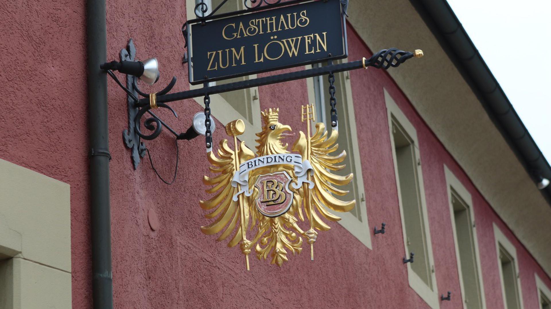 """Das Gasthaus """"Zum Löwen"""" in Forst ist ein familiengeführtes und gut bürgerliches Restaurant mit vielen Stammgästen"""