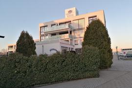 Blick auf ein Gebäude