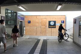 Bahnhof Bruchsal Unterführung