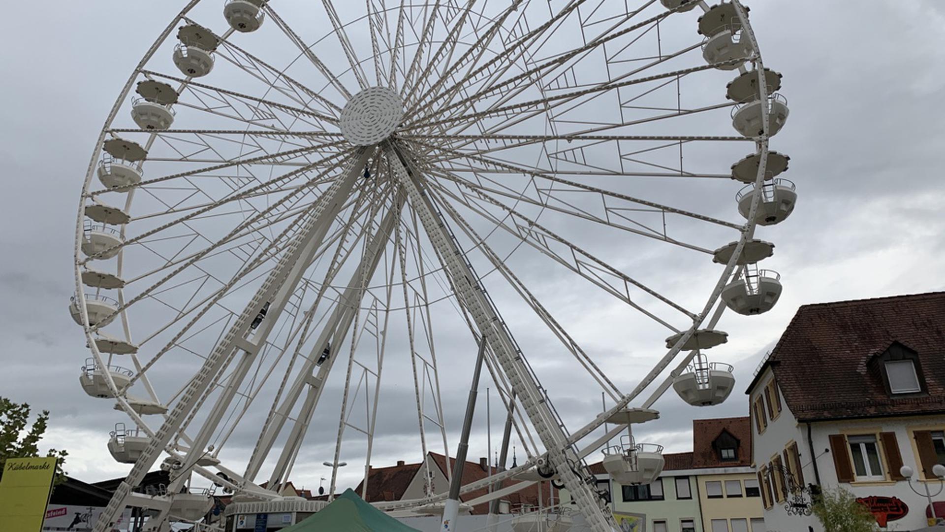 Das Riesenrad in Bruchsal.