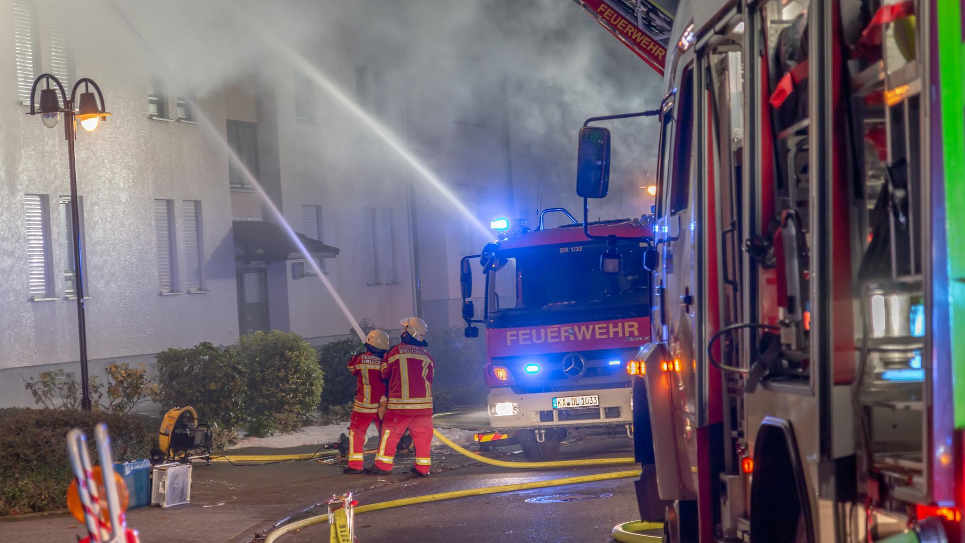 Brand Wohnung Bruchsal