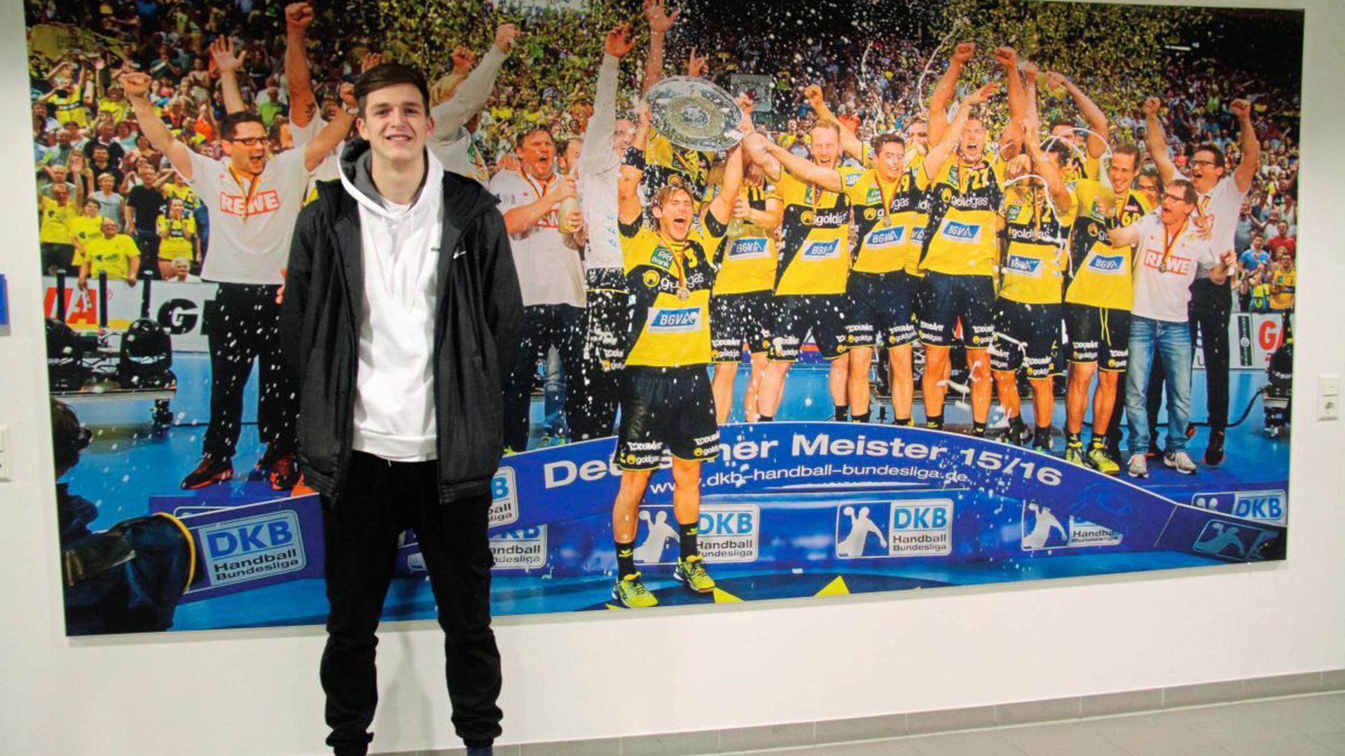 Robert Kraß ist in der Jugend der Rhein-Neckar-Löwen aktiv. Sein Ziel ist es, Profihandballer zu werden.