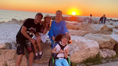 Familie Vidacic im Urlaub