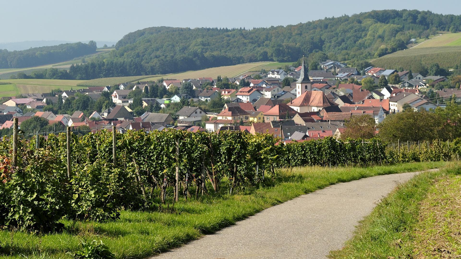 Ort in Kraichgaulandschaft