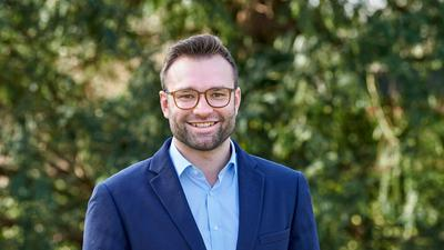Bürgermeisterkandidat Jonas Lindner