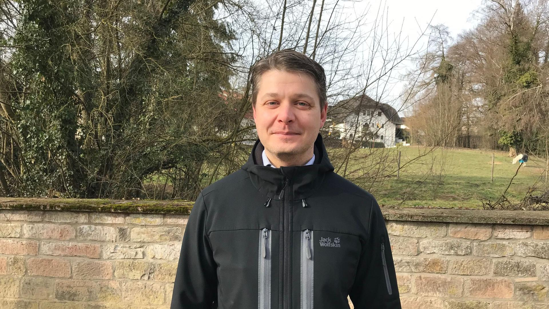 Lucien Kacsányi, Bürgermeisterkandidat für Kraichtal