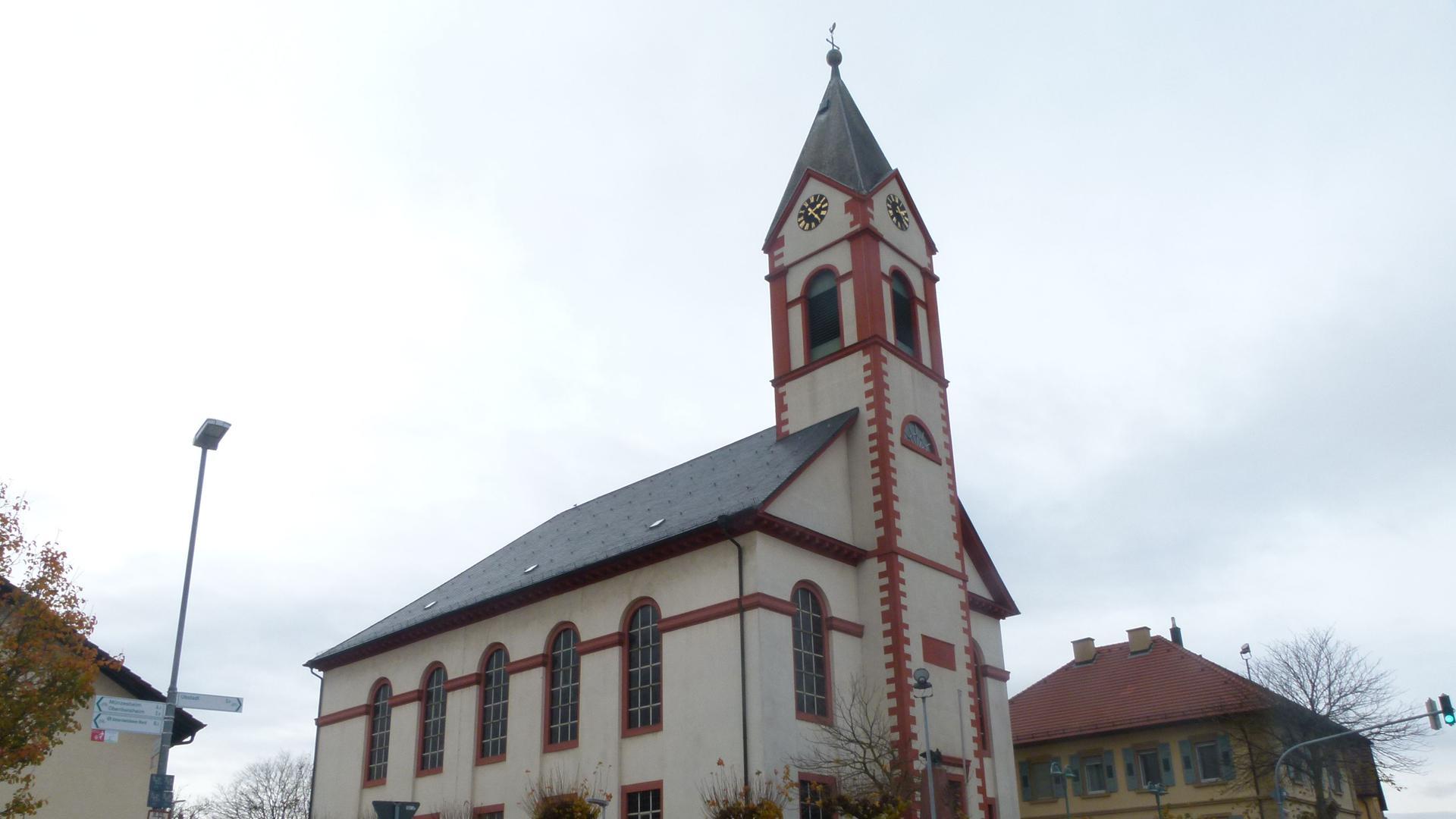 Kreuzkirche Unteröwisheim
