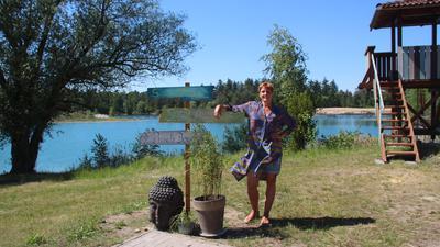 Julia Dickgießer ist neue Pächterin des Lußhardtsees in Kronau mit ganz vielen Ideen