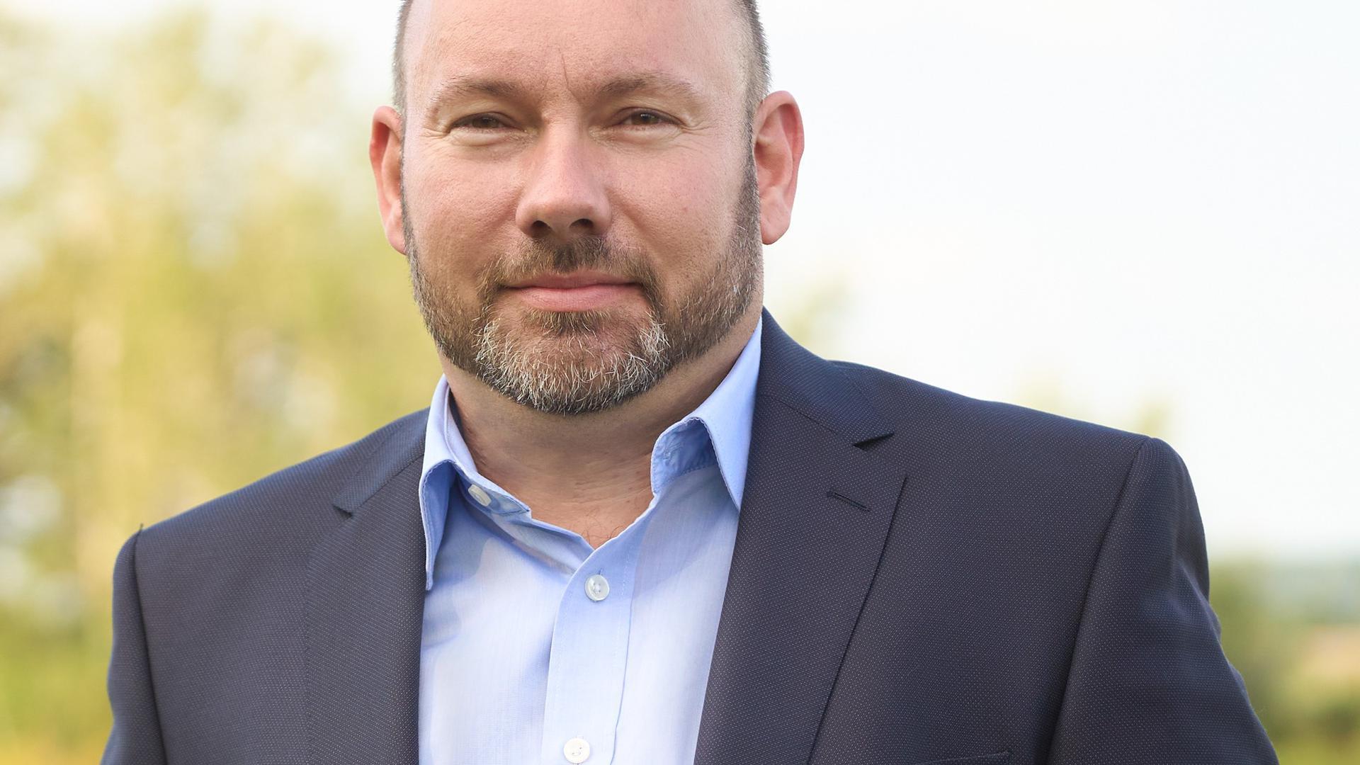 Manuel Scholl Bürgermeisterwahl Oberhausen-Rheinhausen 2021