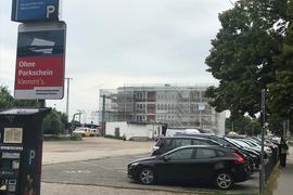 Parkplatz Bahnhof Bruchsal