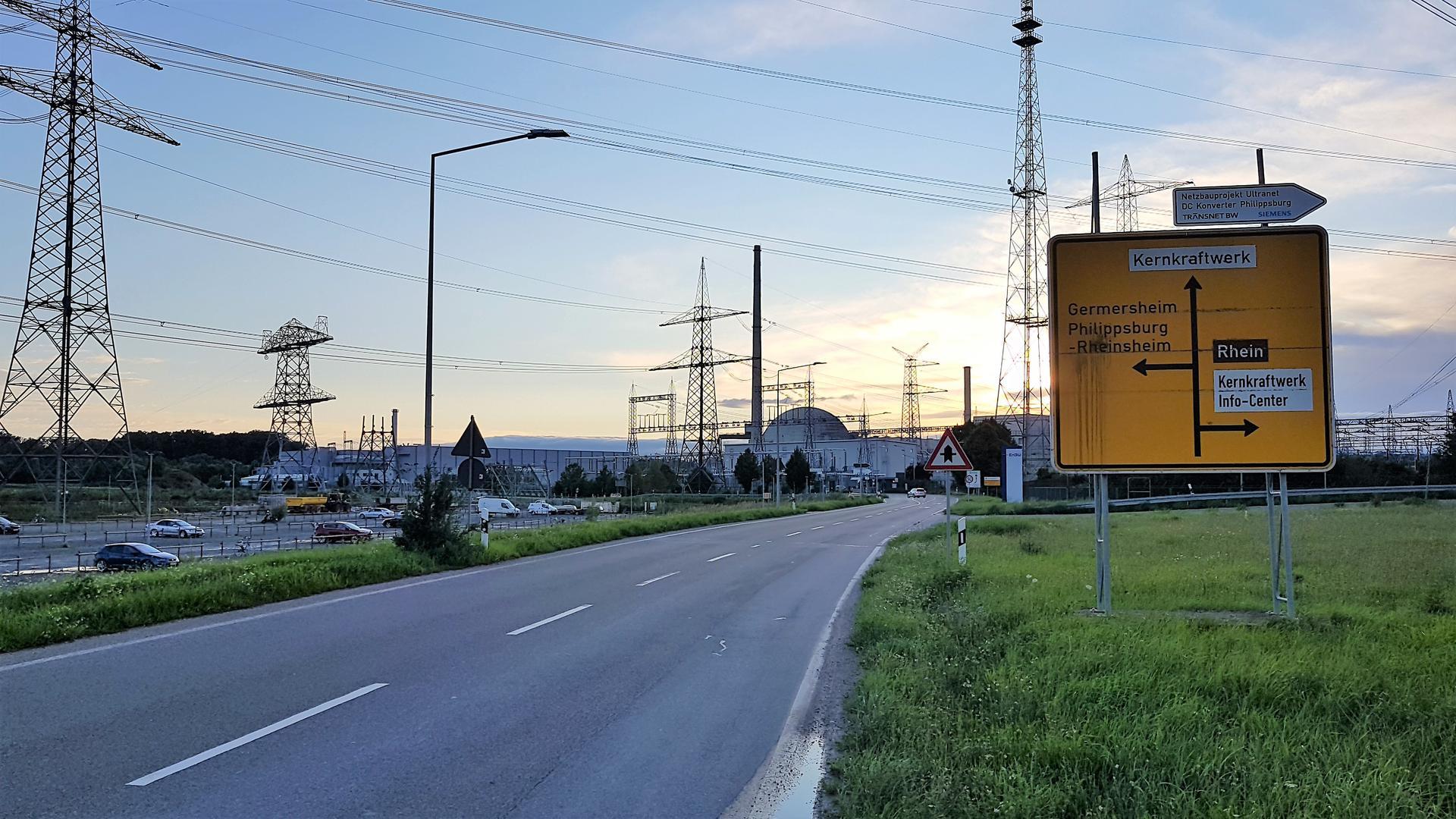 Maximal 5 Castoren aus Le Hague sind im Kernkraftwerk Philippsburg zu erwarten