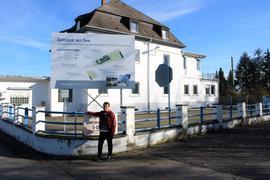 Das stillgelegte Vedag-Werk in Rheinsheim.