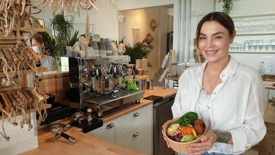 """Aus der Garage zum Konzeptstore: Sandra Muley verwirklichte sich mit dem """"Seasalt Living"""" in Ubstadt-Weiher einen Traum."""