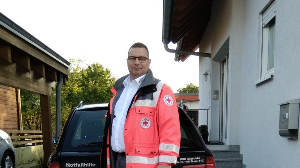 Norbert Buhlinger ist seit rund 35 Jahren ehrenamtlich in der Freiwilligen Feuerwehr und beim Deutschen Roten Kreuz aktiv.
