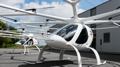 Volocopter 2X und VC200