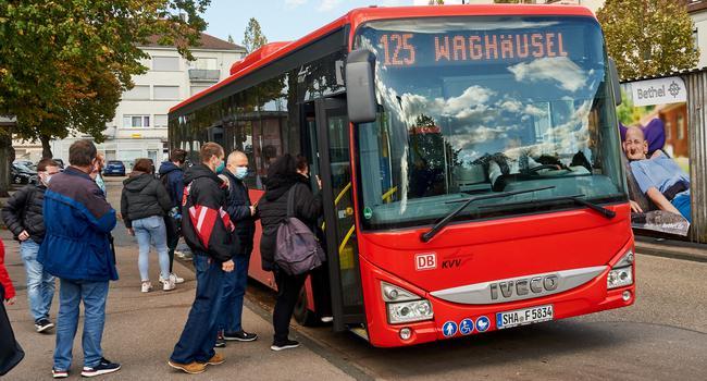 Buslinie 125 Waghäusel
