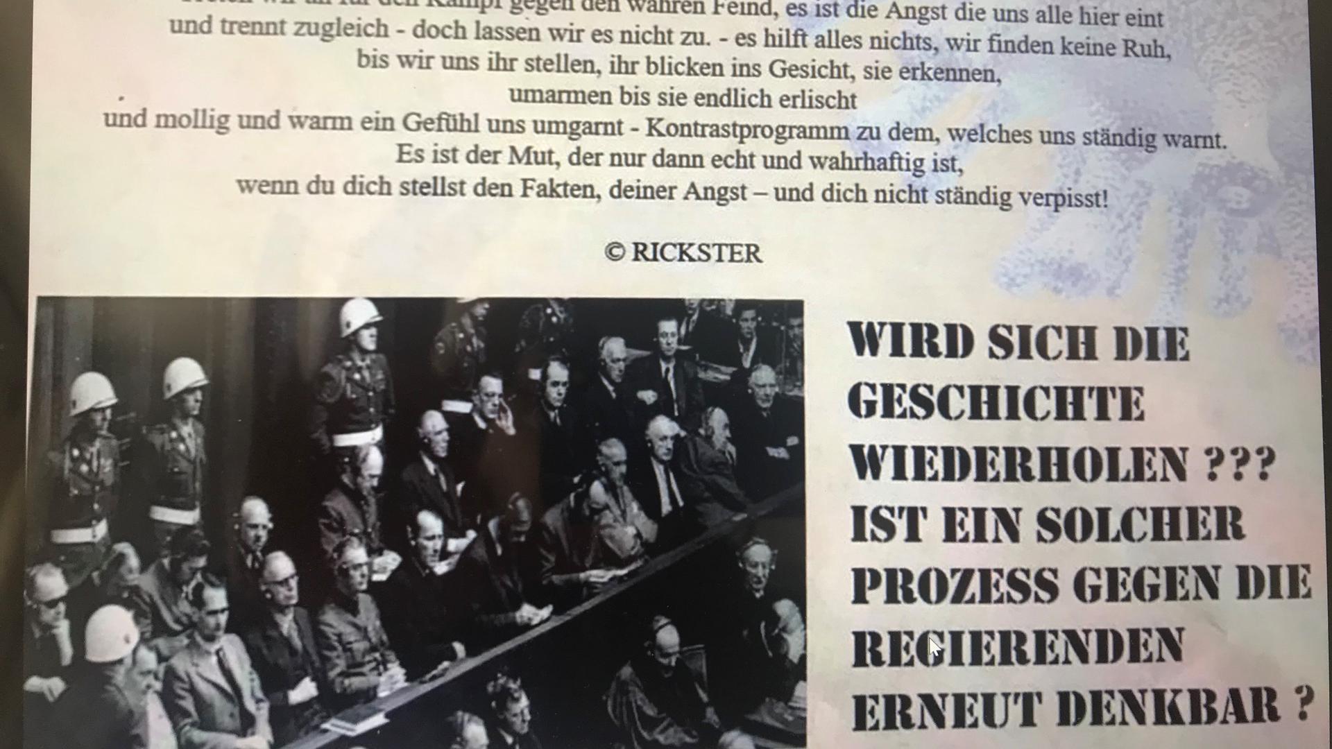 """Brief mit Nazivergleichen: Eine Zeitschrift namens """"KZZ"""" wurde jetzt an mehrere Schulleiter im Raum Bruchsal verschickt."""