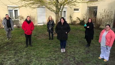 """Pflegekräfte vom Seniorenzentrum """"Am Hag"""" in Wiesental"""