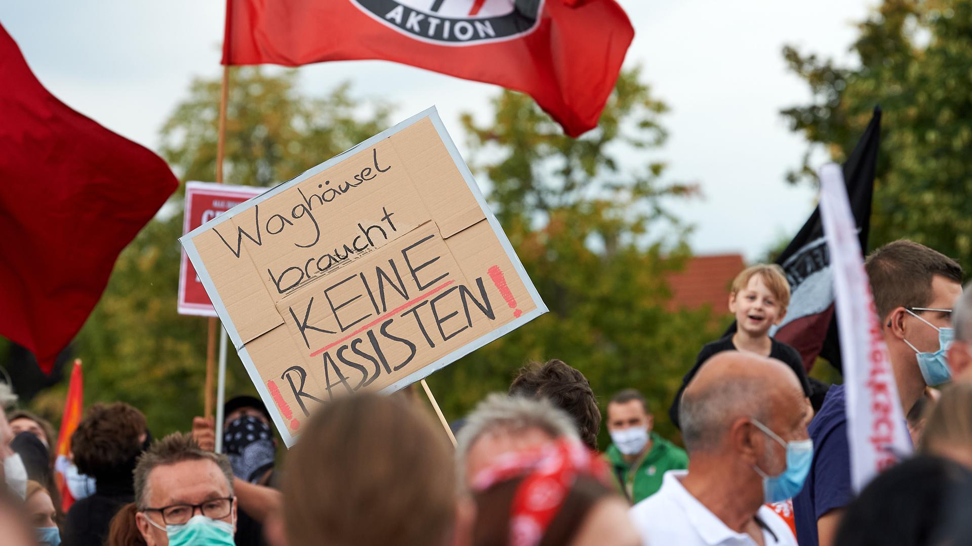 Demo und Gegendemo wegen Vorfall an Waghäuseler Bahnhof geplant